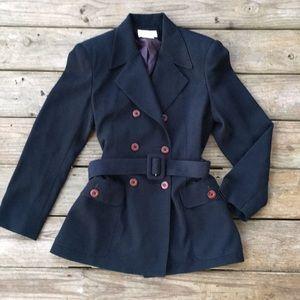 Vintage pea coat